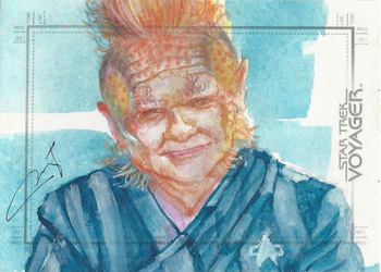 Mary Jane Pajaron Sketch - Neelix