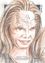 Gener Pedrina Sketch - Seska as Cardassian
