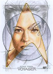 Sean Pence Sketch - Seven of Nine