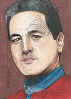 Scott Rorie Sketch - Chakotay