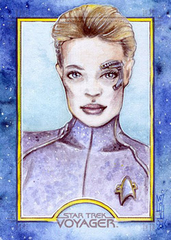 Helga Wojik Sketch - Seven of Nine