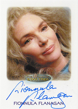Autograph - Fionnula Flanagan as Juliana Tainer