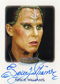 Autograph - Spice Williams as Vixis