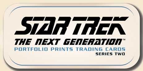 Star Trek TNG Portfolio Prints Series 2 Complete 88 Card Base Set