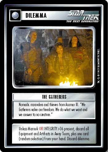 non aligned STAR TREK CCG VOYAGER RARE CARD NEELIX
