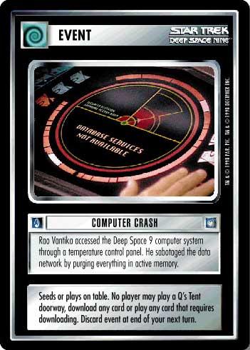 STAR TREK CCG DS9 RARE CARD TAHNA LOS