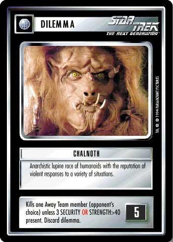 Star Trek CCG Premiere BB Limited Pi