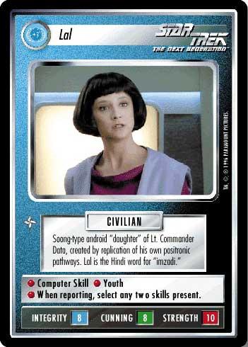 Star Trek CCG QC Q-Continuum Madam Guinan