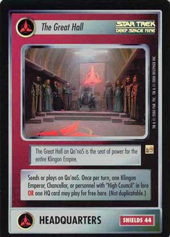 Star Trek CCG Reflections Cytherians Super Rare Foil SRF