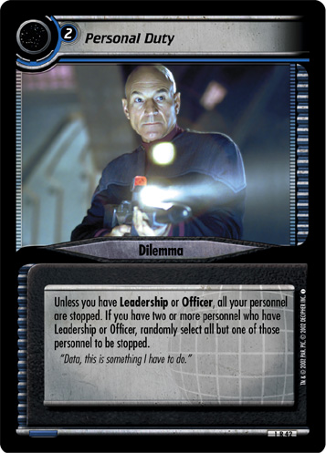 Star Trek CCG 2E Reflections 2.0 Outlining the Stakes FOIL 4R94