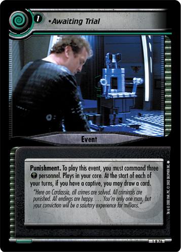 Star Trek CCG 2E Premiere Condition Captive 1R124