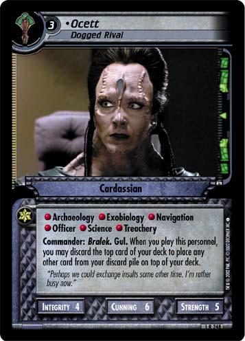 Star Trek CCG 2E FOIL IKS Maht/'H/'a 1R401
