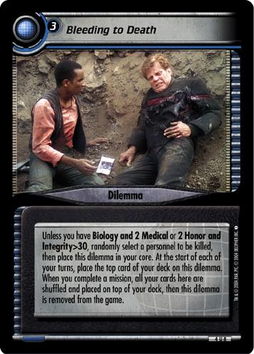 Star Trek CCG Necessary Evil 4R83 You/'ve Always Been My Favorite