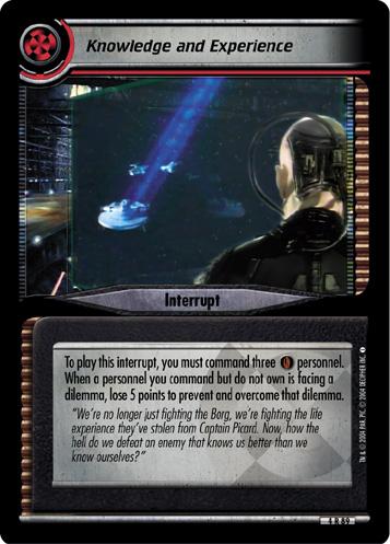 Star Trek CCG Necessary Evil 4R70 Ressikan Flute