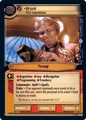 Star Trek CCG 2E Strange New Worlds Provoked Attack 7R23