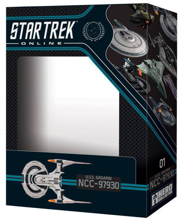 Eaglemoss Star Trek Online Starships Issue 1 Box