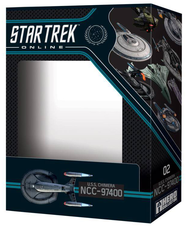 Eaglemoss Star Trek Online Starships Issue 2 Box