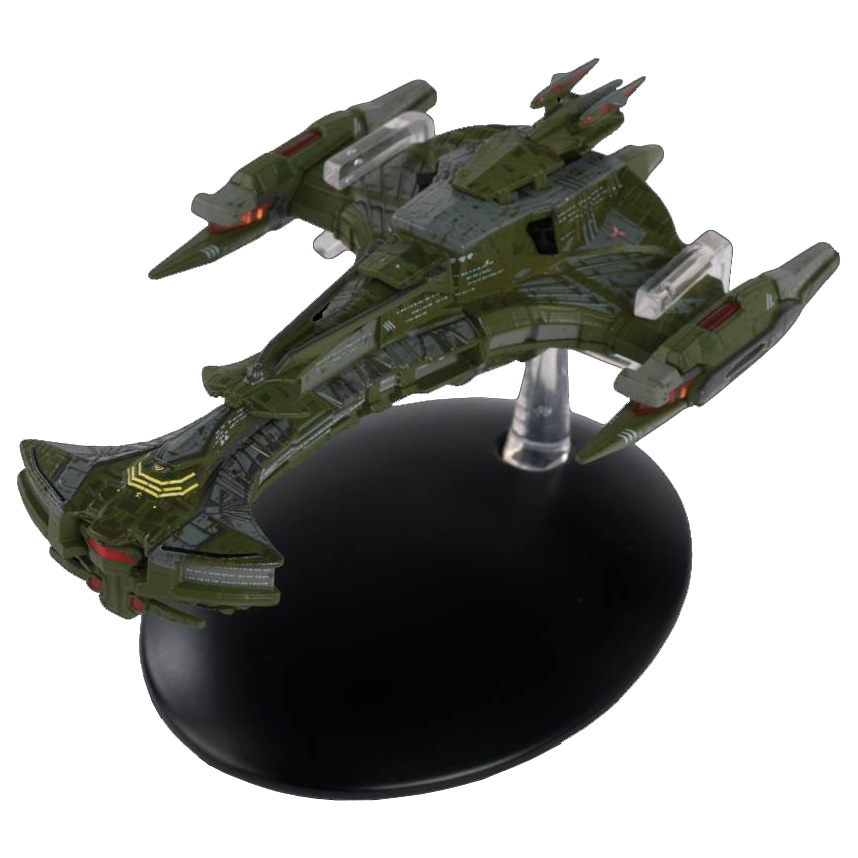 Eaglemoss Star Trek Online Starships Issue 4 Display