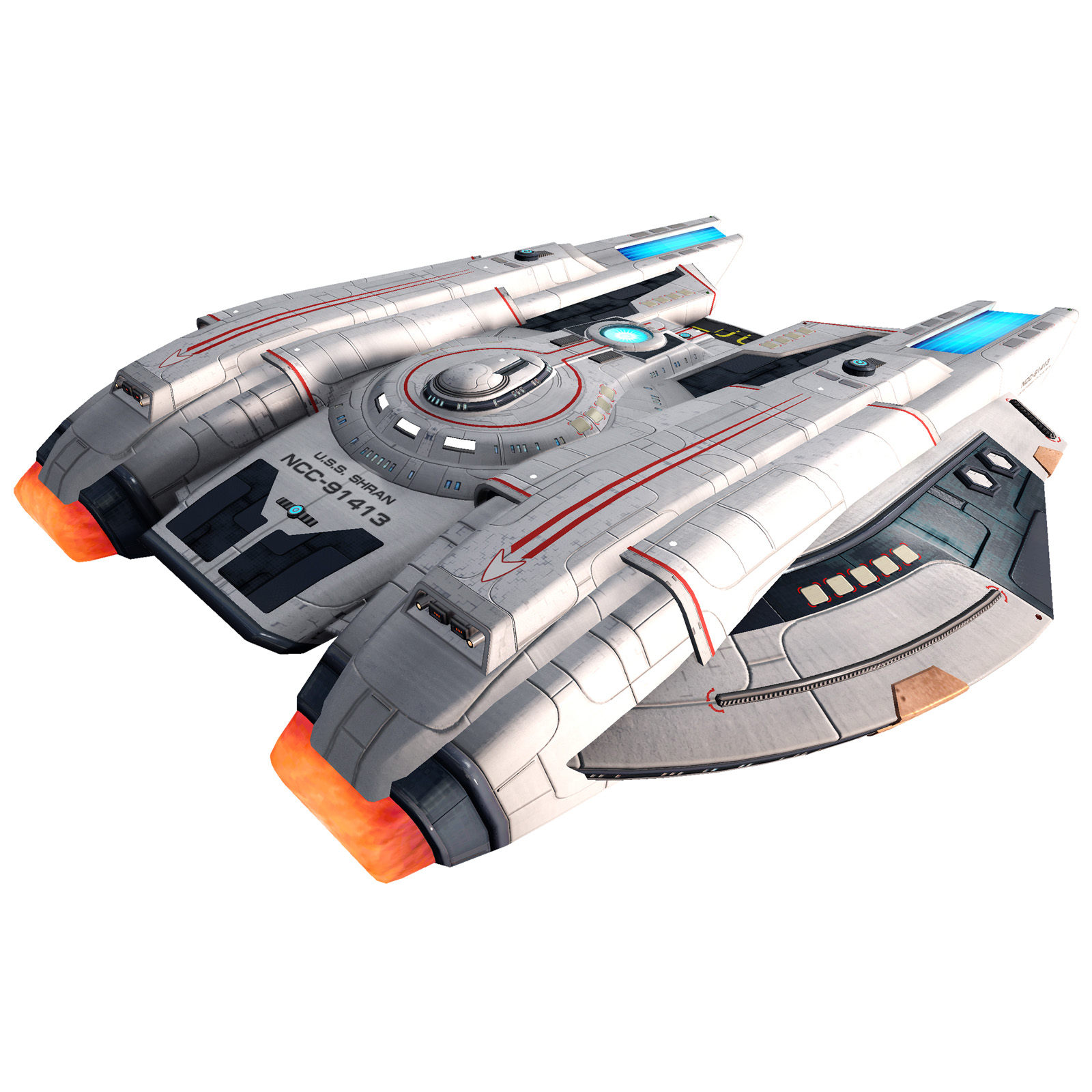 Eaglemoss Star Trek Online Starships Issue ?? Display