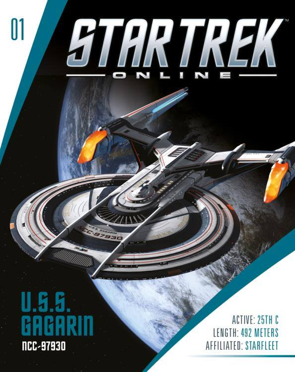 Eaglemoss Star Trek Online Starships Issue 1 Magazine