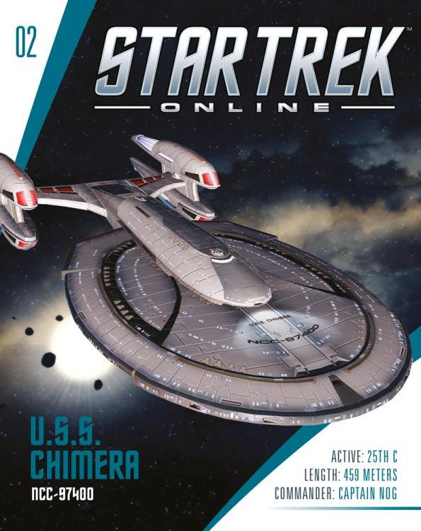 Eaglemoss Star Trek Online Starships Issue 2 Magazine
