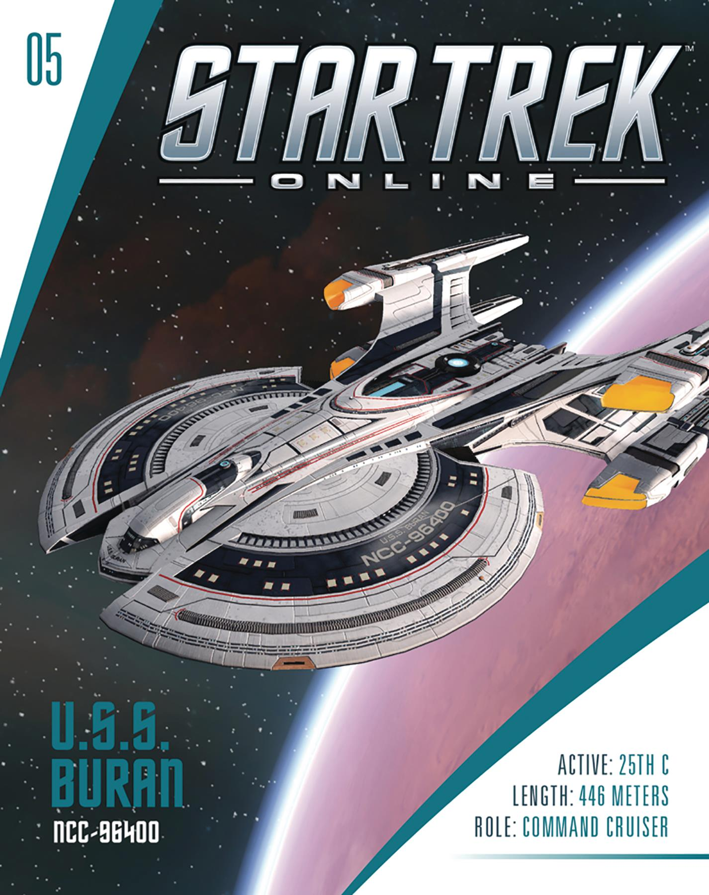 Eaglemoss Star Trek Online Starships Issue 5 Magazine