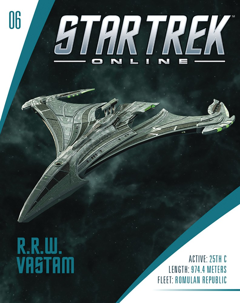 Eaglemoss Star Trek Online Starships Issue 6 Magazine