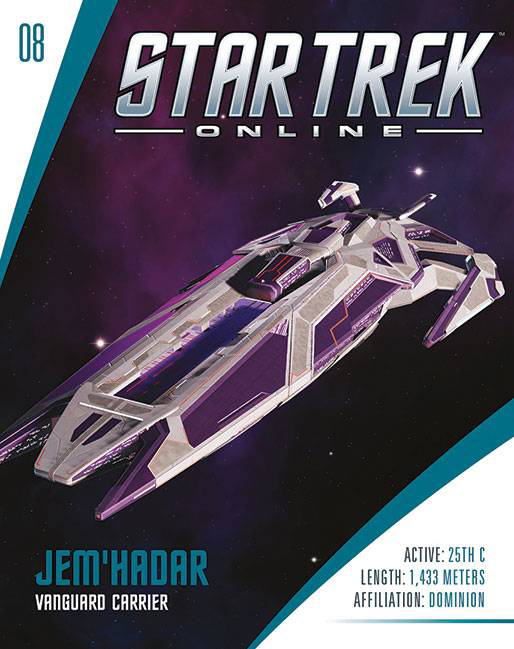 Eaglemoss Star Trek Online Starships Issue 8 Magazine