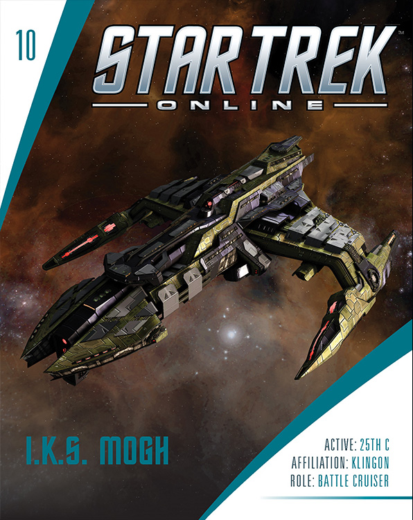 Eaglemoss Star Trek Online Starships Issue 10 Magazine