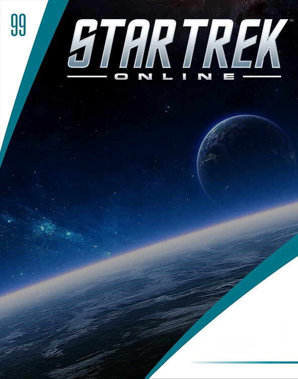 Eaglemoss Star Trek Online Starships Issue Magazine