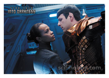 2014 Star Trek Movies Autograph Card Lee Reherman As USS Vengeance Security Offr