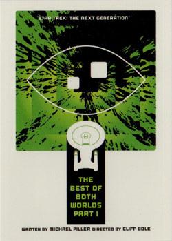 Star Trek Portfolio Prints Gold Parallel Base Card  18 Shore Leave