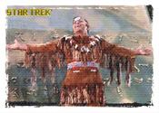 Star Trek TOS Art /& Images Expanded Universe Chase Card AS2