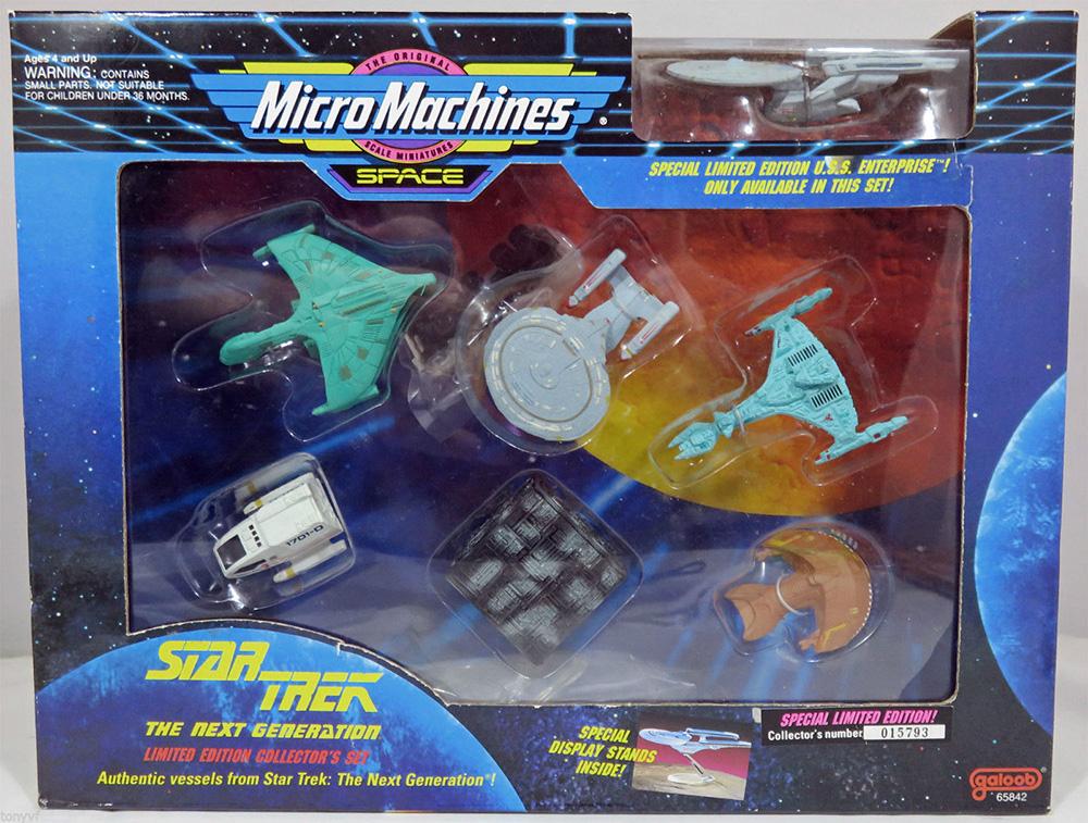 Star Trek Micro Machines des navires GALOOB plastique