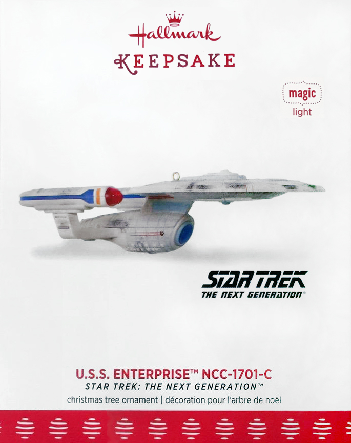 Star Trek USS Discovery Hallmark SDCC 2018 Ornament Worldwide Shipping